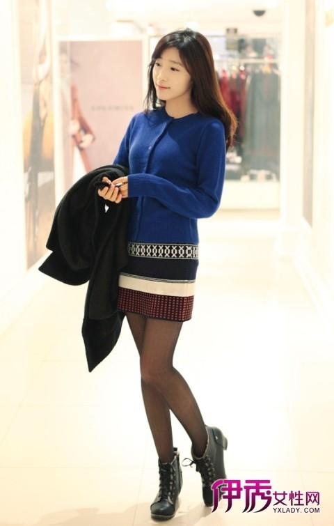 【冬季服装搭配】毛衣外套搭出甜美派淑女范-毛衣外套搭出淑女范潮
