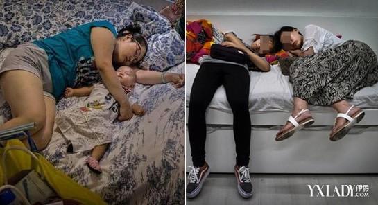 外媒拍国人宜家蹭睡