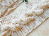 怎么织围巾图解