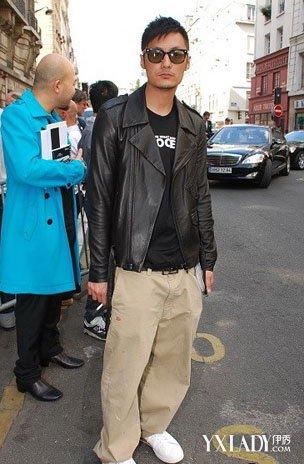 余文乐匡威穿搭街拍引领潮流 2种搭配穿出时尚范图片