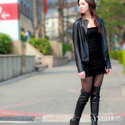 日本皮衣长靴美女图片欣赏 8种皮衣的搭配方法为你介绍