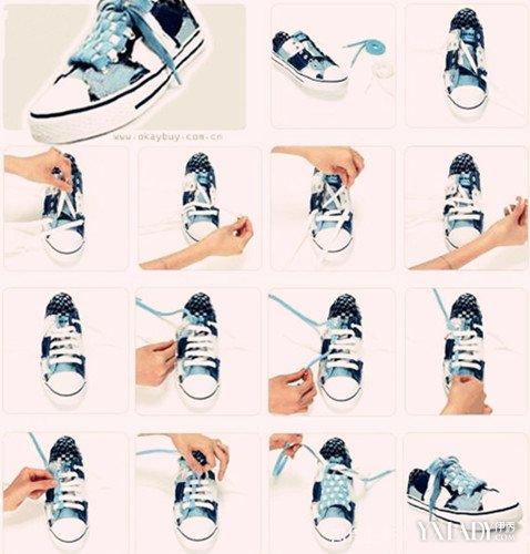 怎么绑鞋带好看图解 教你最漂亮时尚的打法