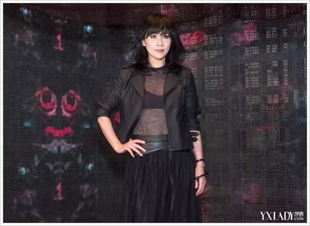 女神刘嘉玲掀起朋克风暴,摇滚力量起航进军天猫