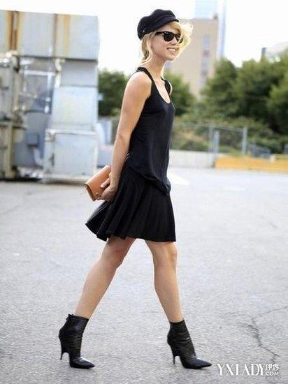 小黑裙搭配