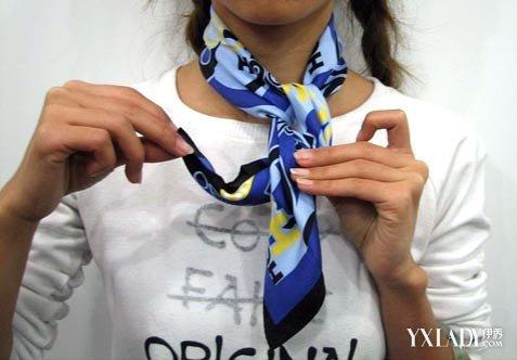 【图】方巾的十五种打法图解精选 教你做时尚