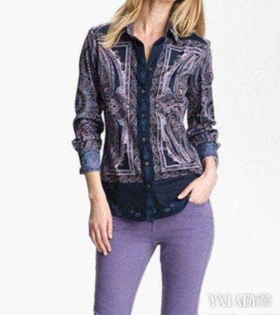 【图】紫色裤子配什么上衣和鞋子好看 达人教