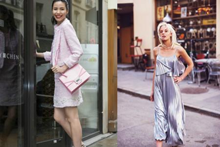 【图】街拍时尚打造季节过渡期完美穿搭绿色成今年流行色