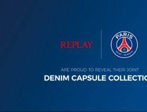 REPLAY 巴黎圣日尔曼足球俱乐部联名胶囊系列以及FW20《虚拟反应》隆重上市!