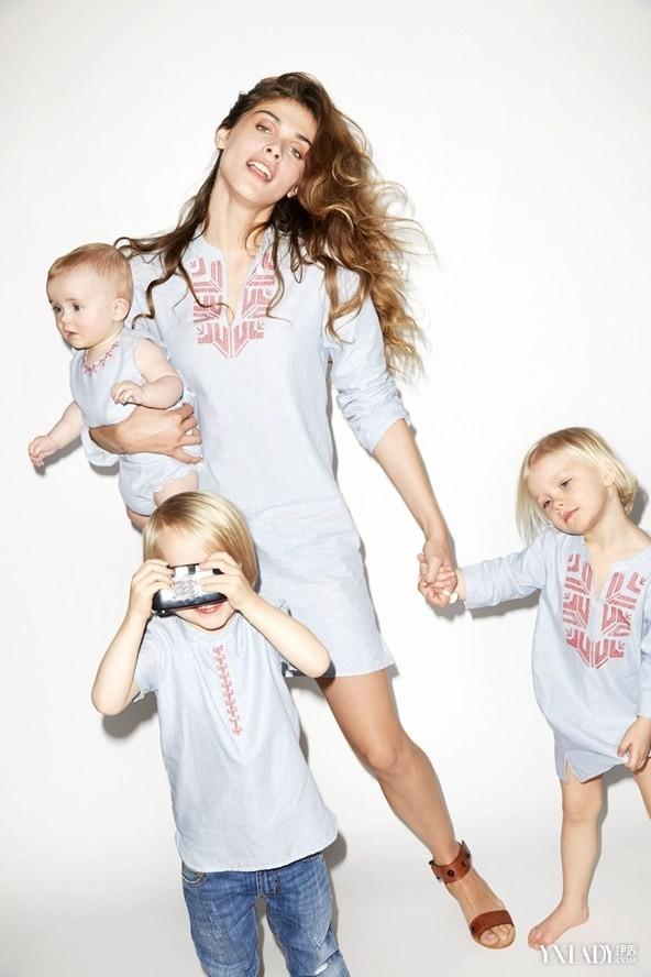 超模ElisaSednaoui联手Yoox.com推出服装系列