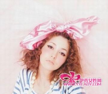 太可爱!日本十大超流行蝴蝶结发型