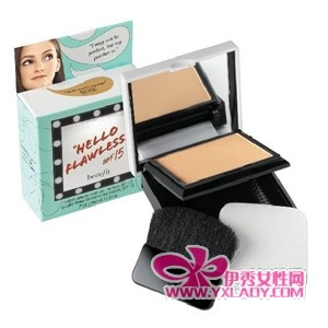 Benefit Hello flawless完美无暇粉饼