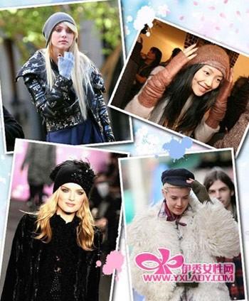 Part 1:贝雷帽×顺直发:个性纯情美女
