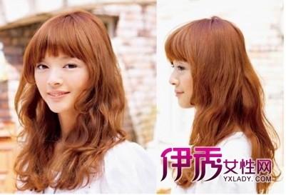 沉着知性发尾大卷发-娃娃脸适合的发型 让你看上去才18岁图片