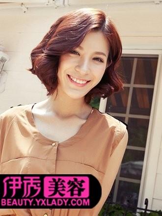 中分短发发型设计-2012短发发型设计 夏季清爽首选发型图片