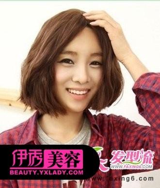 甜美的麦穗烫短发发型-短发也有女人味 孙俪戚薇领衔冬季流行短发发型