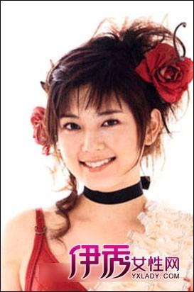 甜美齐刘海新娘造型 做最美新娘图片