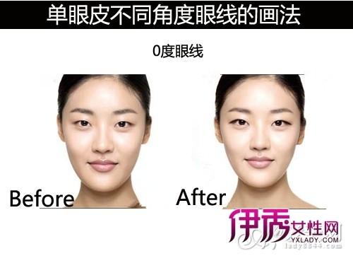 不同角度的眼线画法 拯救单眼皮MM
