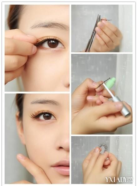 韩式妆容步骤