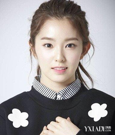 Redvelvet组合Irene裴珠泫一字眉怎么画教你韩式眉毛的画法