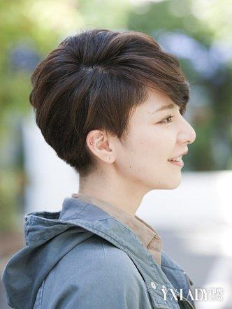 【图】女生帅气短发造型 2015年新女生流行短发发型 女生帅气短发 伊秀美容网 Yxlady Com
