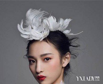 韩式新娘的发型图片 精灵风甜美浪漫不失俏皮