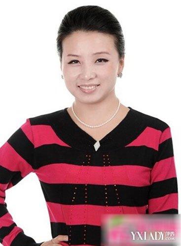 中年妇女短发型图片