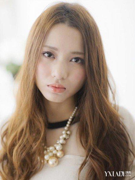 深栗色是什么颜色_【图】几款烫发尾的发型图片 让你轻松变女神(3)_烫发尾的发型 ...