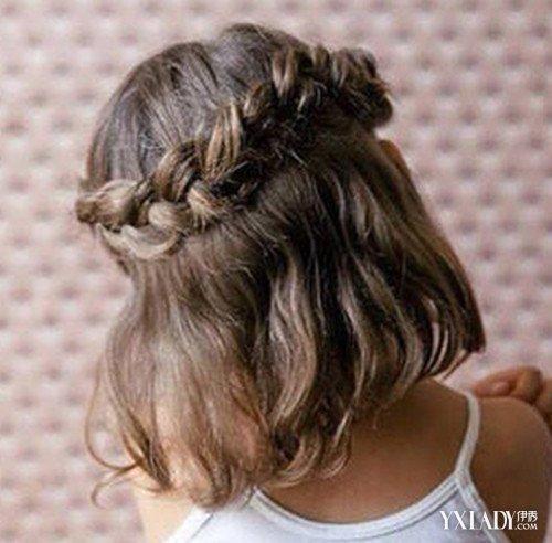 儿童短发编发发型大全简单图解 辫子编发打造甜美小公主