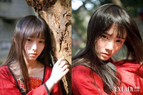 美女鞠婧祎头发图片学几款发型教你卖萌