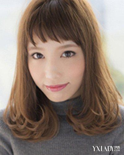2015流行内卷发型一:圆脸女生适合什么发型呢?时尚盛行的当下,图片