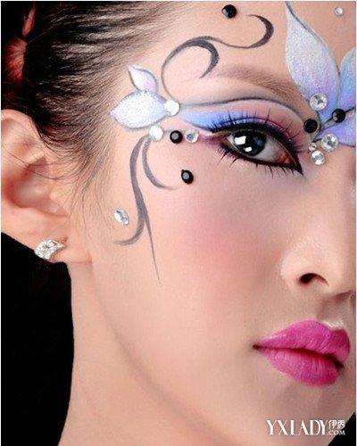 儿童妆面的画法_【图】儿童舞台妆亮片眼妆化妆步骤 两种儿童化妆方式(2)_儿童 ...