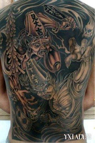 黑白无常纹身有什么含义 探究黑白无常纹身的讲究及忌讳图片