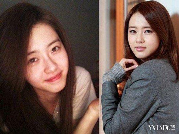 素颜女明星图片对比 盘点素颜也美的韩国女星