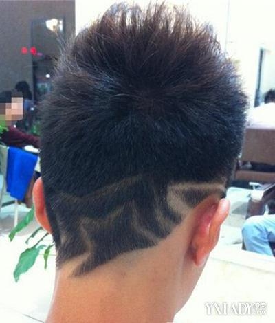 男士雕刻侧面发型_【图】男生头发侧面刻图案图片展示 让你瞬间变自信了(3)_男生 ...