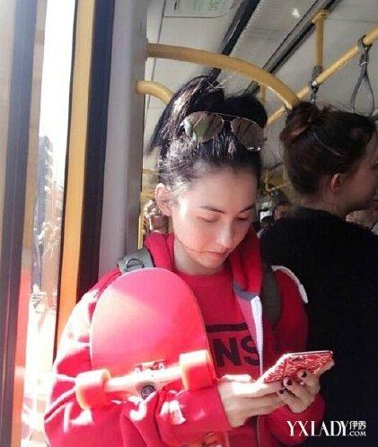 【图】张柏芝素颜挤地铁似少女 揭辣妈逆龄美肌护肤方法