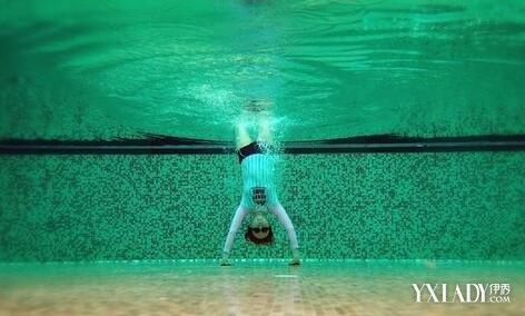 【图】陈意涵水中倒立 童颜美女原来是这样保养的<美肤>