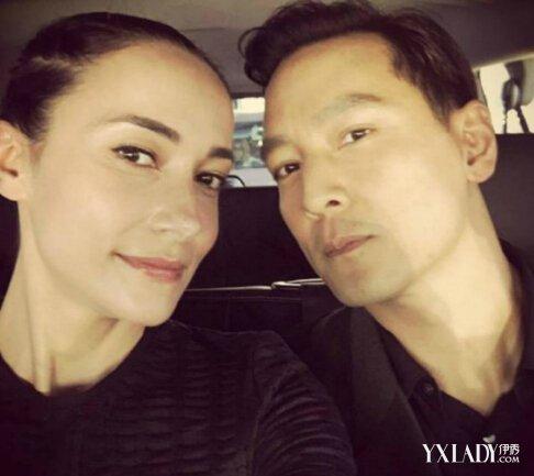 【图】吴彦祖与爱妻自拍超甜 揭lisa s美容护肤方法