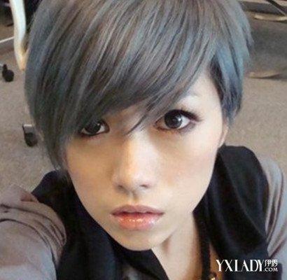 亚麻灰色头发怎么染 教你打造时尚亚麻色发型图片