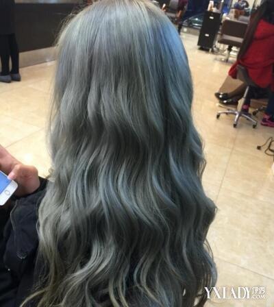 浅亚麻青色头发图片_【图】亚麻浅青灰色头发图片欣赏 几大技巧为你打造靓丽发型(2 ...