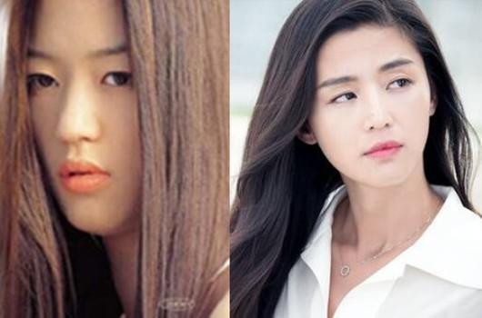 【图】韩国女星整容前后对比照太惊悚 大妈轻松变女神