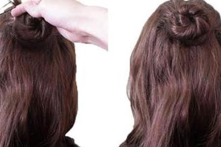 时尚达人教你几招公主时尚发型盘发 漂亮公主时尚发型盘头扎法