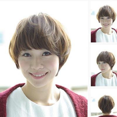 女生深栗色短发发型推荐ca88亚洲城瘦脸又吸睛