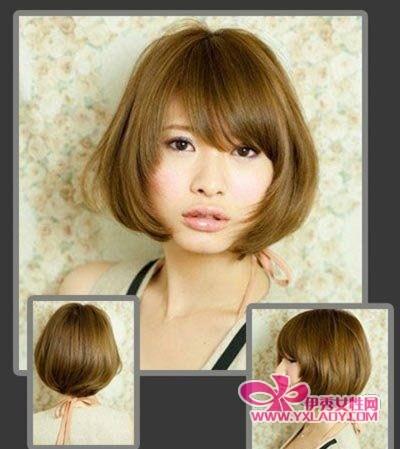 【图】6款精ol短发发型 干练中显娇柔