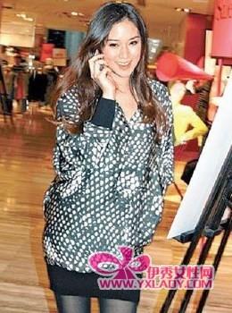 【图】徐子淇怀孕3个月想生仔 清秀美妆坐稳豪门媳妇位