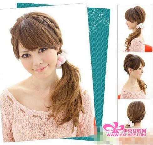 【图】2011年做优雅名媛 5款最流行的淑女发型