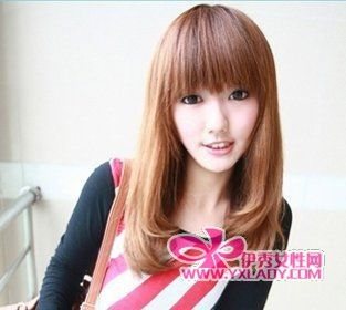 【图】时尚发型:8款中长款梨花头 打造完美瓜子脸