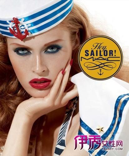 mac蓝色彩妆 hey,sailor系列航向不一样的夏季海洋