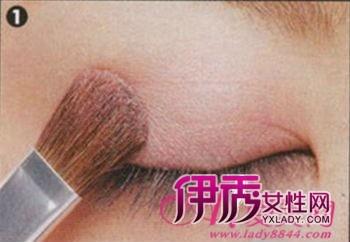 靓丽彩妆 打造日系蜜桃甜蜜眼妆