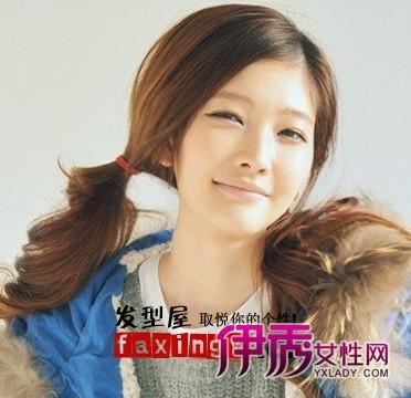2012简单可爱韩式发型扎法