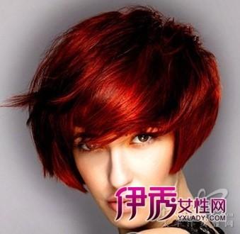 沙宣直发发型图片 2012最新沙宣发型